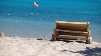 Beach in Hurghada, Egypt