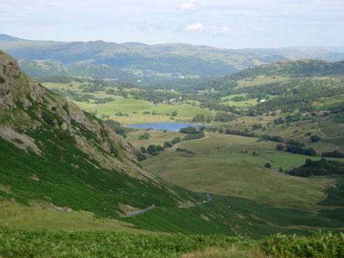 Beautiful landscape in Cumbria