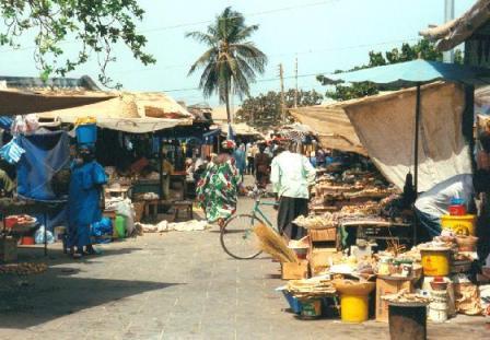 Albert Market in Banjul