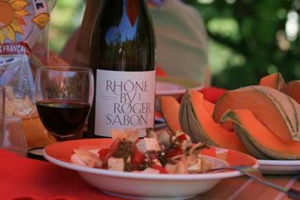 Roger Sabon - a wine to remember