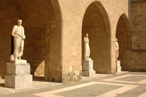 Honouring the Greek gods in the temples of Rhodes
