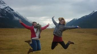 Having fun abroad