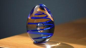 Beautiful Murano glass as paperwight