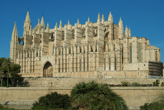 Cathedral Le Seu in Mallorca