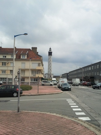 The lighthouse at Calais