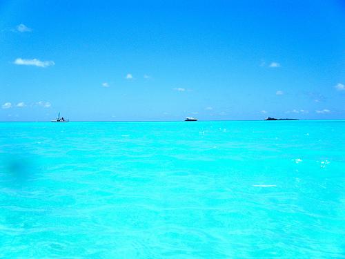Stunning lagoon waters