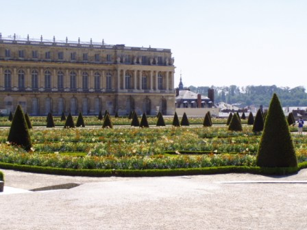 Au Palais de Versailles