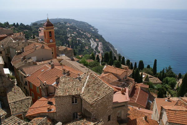 Roquebrune on the French Riviera