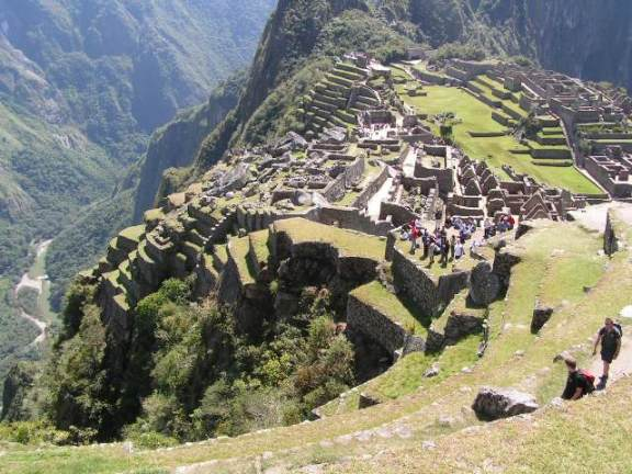 Machu Picchu - one of the wonders of the world