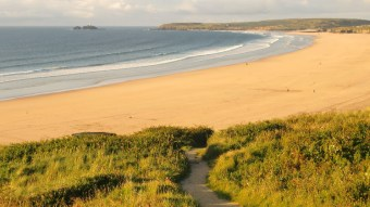Even England has some beautiful and wild beaches