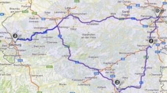 Vienna loop road trip