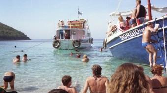Boatful of fun in Kavos