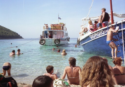 Boatful of fun in Kavos