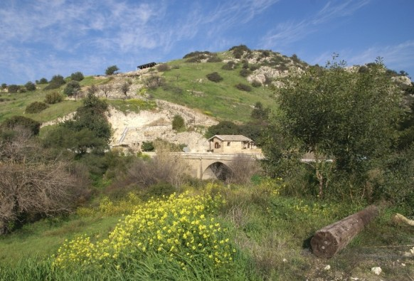 Hiking in the countryside in Cyprus