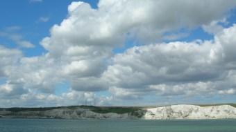 Sea crossing at Dover