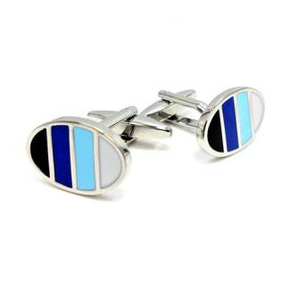Blue Spectrum Cufflinks
