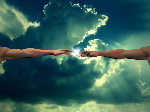 man-spirit-god-connection