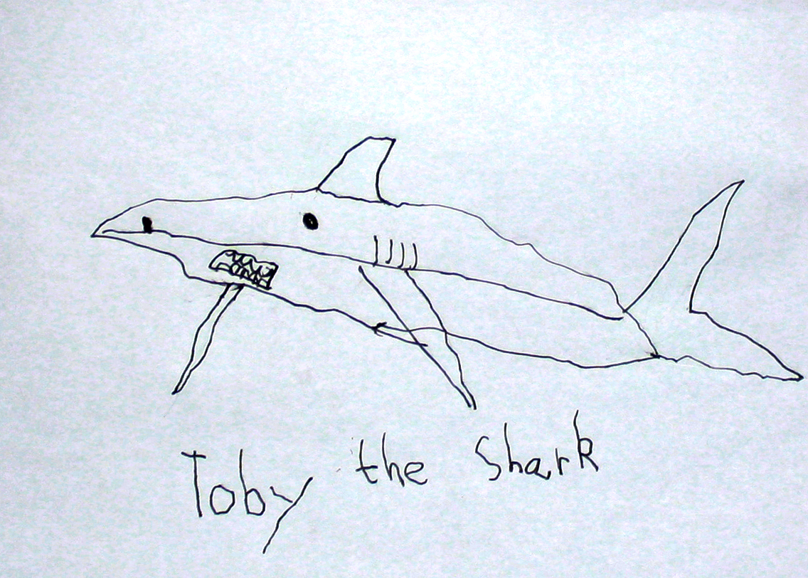 Toby The Great White Shark Legend