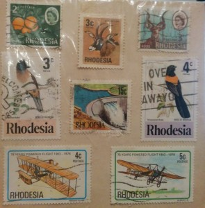 Rhodesian Postage Stamps cont'd