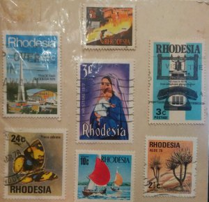 Rhodesian Postage Stamps
