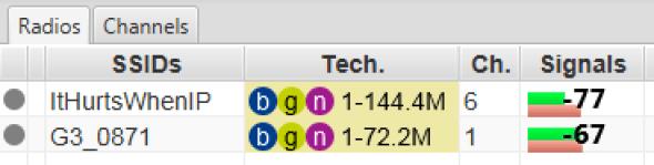 ESS signal levels, MacBook, USB3 hub