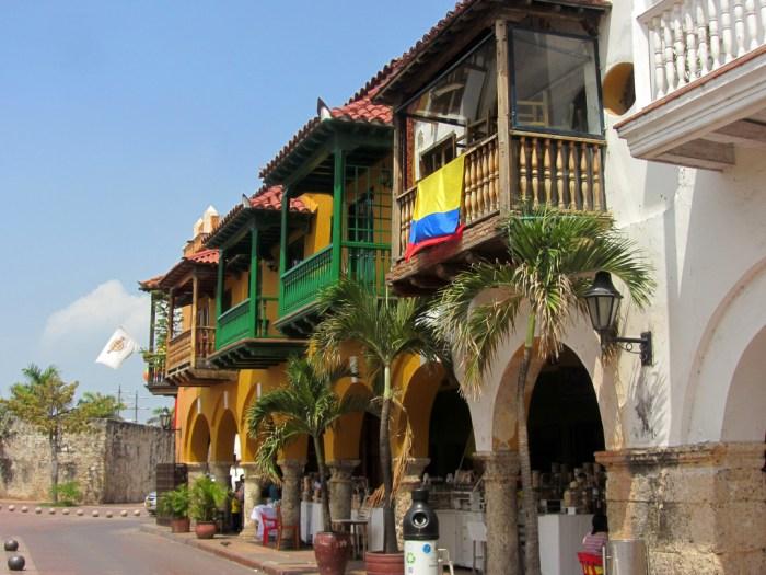 Cartagena, Portal de los Dulces, Colombia