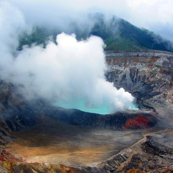 Poas Volcano, San Jose, Costa Rica