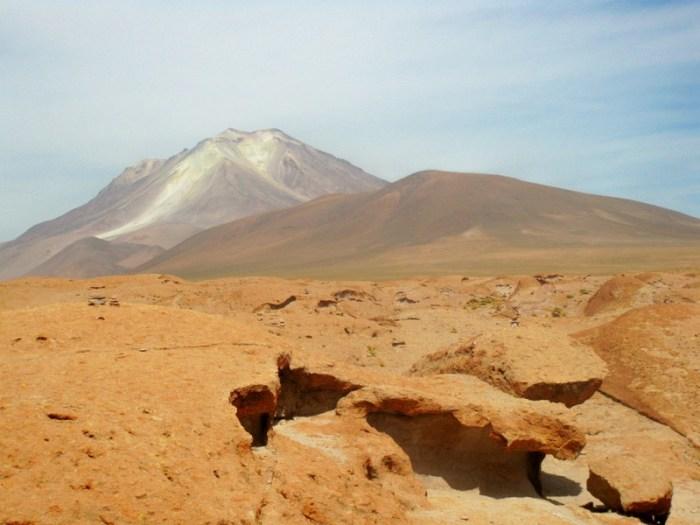 Salar de Chinguana, Ollague Volcano, Uyuni, Salt Flat, Bolivia