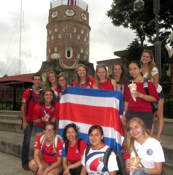 Heredia, World Cup, Costa Rica, Study Abroad
