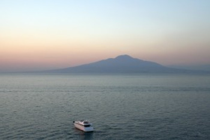 Vezuvijaus kalnas, Sorento, Italija