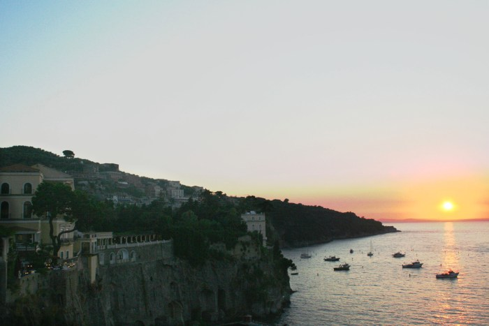 Sorrento, Sunset, Italy