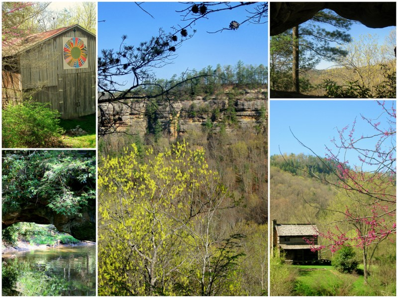 Red River Gorge, Natural Bridge, Daniel Boone National Forest, Kentucky