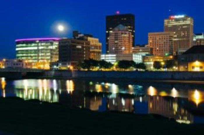 Dayton Ohio Skyline