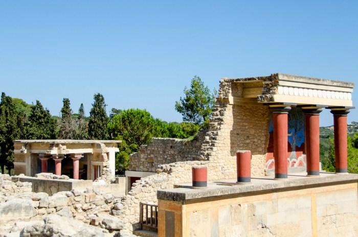 Palace of Knossos, Crete, Heraklion, Iraklio, Greece