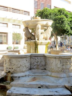 Morosini Fountain, Heraklion, Crete, Greece