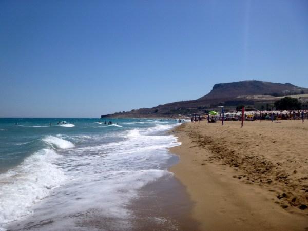 crete, amnissos, greece, heraklion beaches