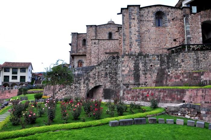 Q'Orikancha Temple in Cuzco, Peru