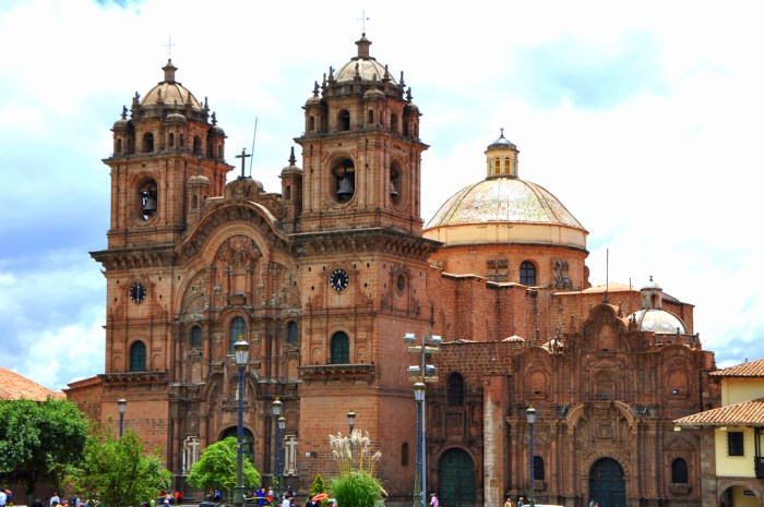 The Cathedral in the Plaza de Armas of Cuzco, Peru