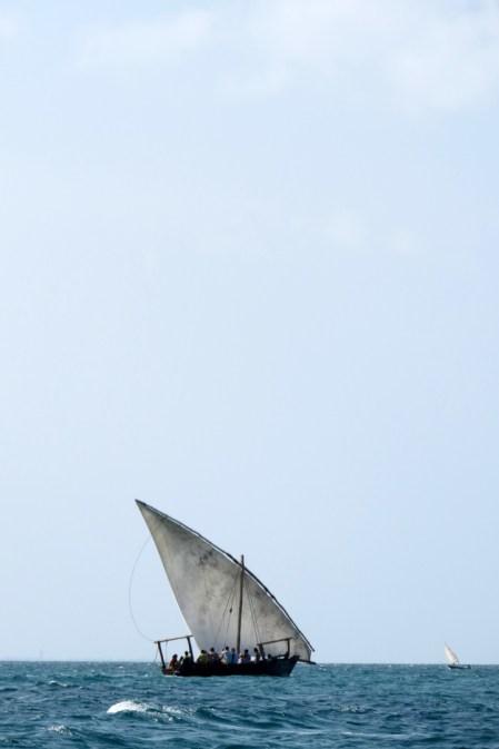dhow boat, zanzibar, safari blue