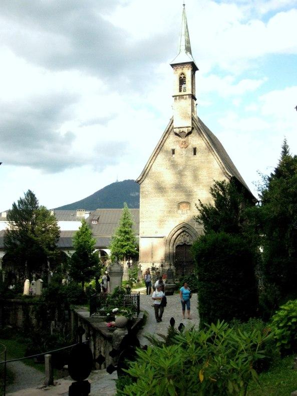 Nonnberg Abbey Sound of Music, Salzburg, Austria