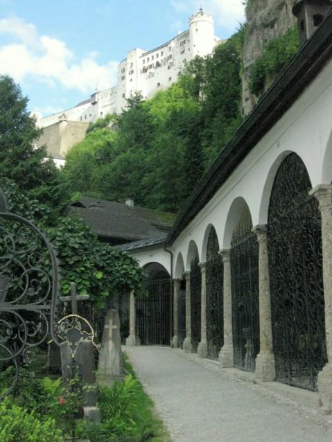 St Peter's Cemetery Salzburg
