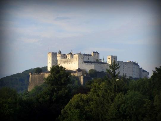 Sound of Music, Salzburg, Austria Hohensalzburger, Castle in Salzburg, Austria