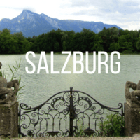 Sound of Music Sites in Salzburg, Austria