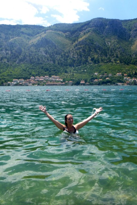 Bay of Kotor, Swimming Kotor