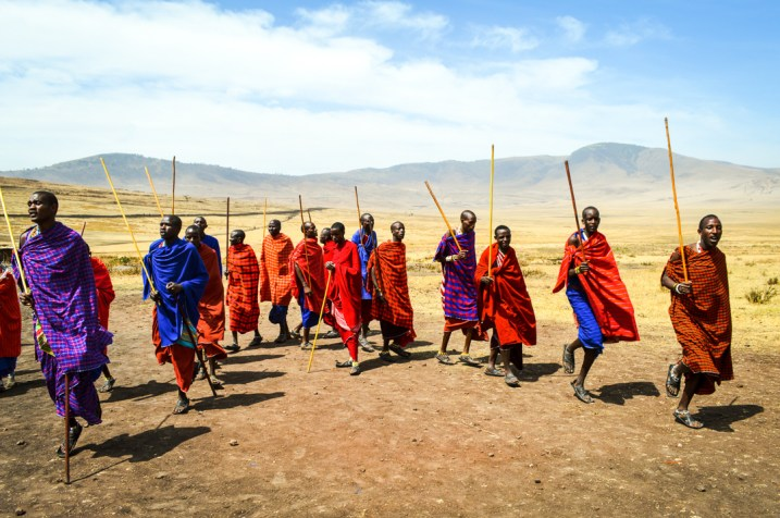 Safari Maasai Jumping