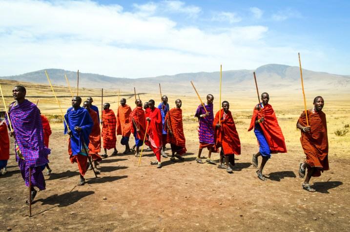Safari Maasai Jumping