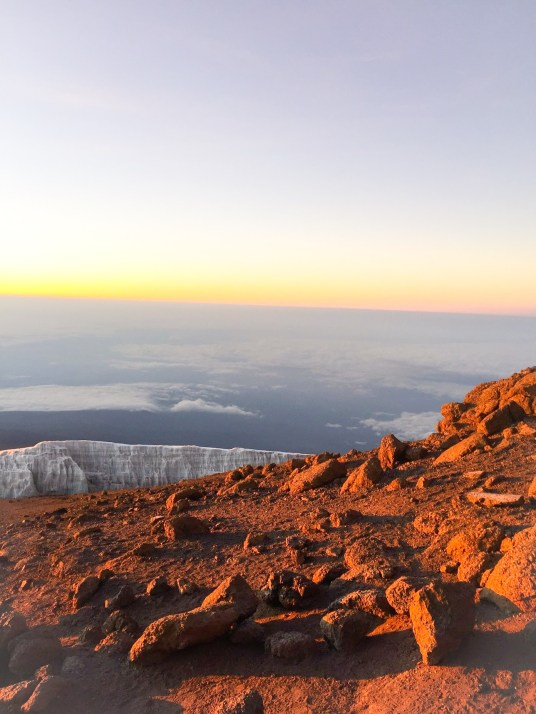 View from the Top of KILI!