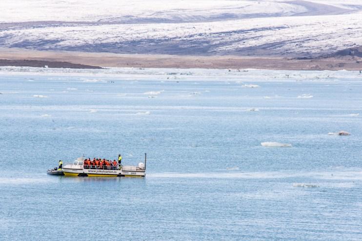 Jokulsarlon Amphibian Boat