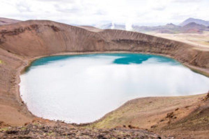 Krafla Caldera - Viti Crater