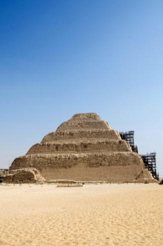 step pyramid djoser at saqqara cairo